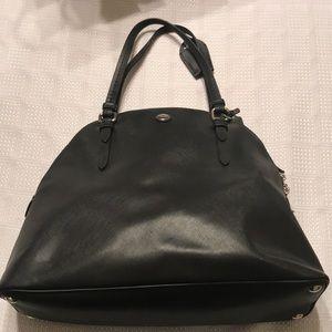 Coach Bags - Coach Medium Sized Satchel — Black